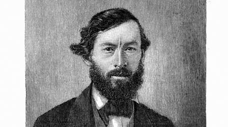 A vintage engraving of Tallahassee captain, Commander John
