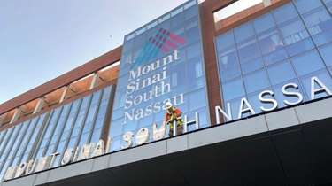 Mount Sinai South Nassau hospital in Oceanside in