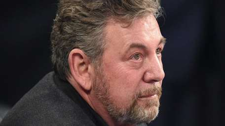 James Dolan has tested positive for the coronavirus,