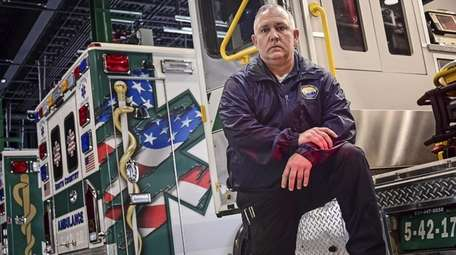 South Country Ambulance Chief Gregory Miglino.