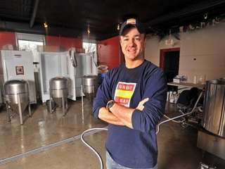 Richard Sobotka, owner of Great South Bay Brewery,