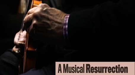 David Herman of East Meadow restores instruments rescued
