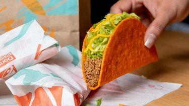 Taco Bell is giving away nacho cheese Doritos