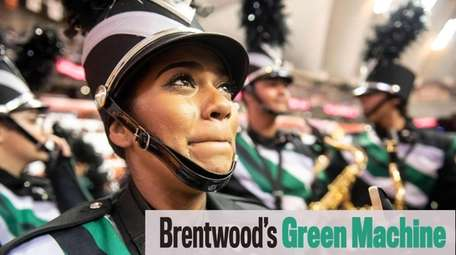 The Green Machine is the well-known marching band