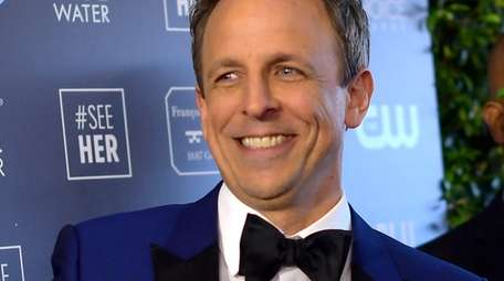 Seth Meyers attends the Critics' Choice Awards on