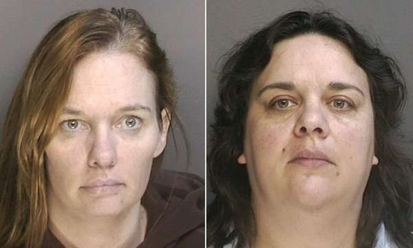Left, Teresa Doige, 42, of Mattituck, and right,