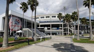 George M. Steinbrenner Field is seen Friday March