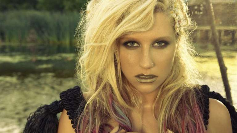 KE$HA (aka Kesha Rose Sebert). (December 2012)