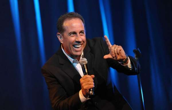 Jerry Seinfeld performs at the David Lynch Foundation: