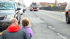 On Monday the Island Park Fire Department drove