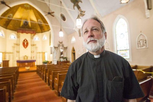 Rev. Msgr. Joseph W. Staudt, pastor of Sacred