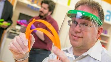 David Ecker, director of the iCreate lab at