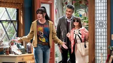 Pauley Perrette as Jackie, Jaime Camil as Javier,
