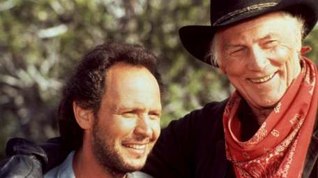 Long Beach native Billy Crystal, left, and Jack