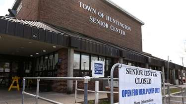 A portion of the Huntington senior center will