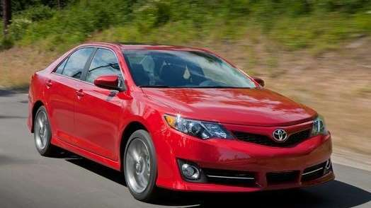 The 2013 Toyota Camry earned a