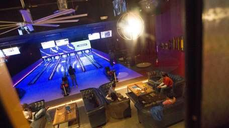 The All Star, a full restaurant, bowling alley