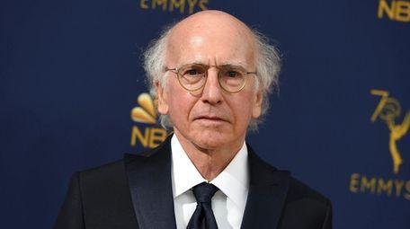 Larry David attends the Primetime Emmy Awards on,