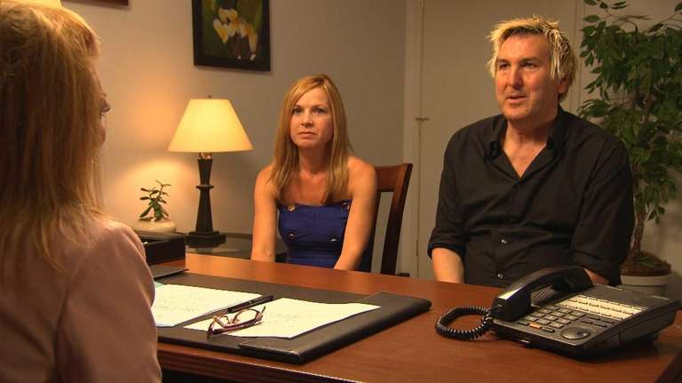 CeCe and Christian in mediation with Judge Michele