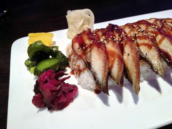 Unagi don (eel on rice) is one of