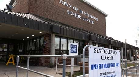 The Huntington senior center in Huntington, Tuesday, March