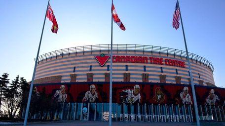 The home rink of the Ottawa Senators, the