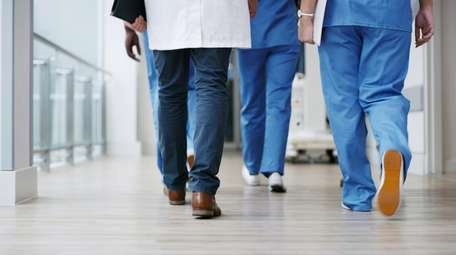 Health care workers on the front lines have
