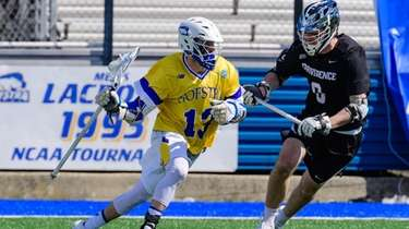 Hofstra Pride attack Ryan Tierney attacks during the