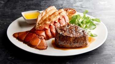 Morton's The Steakhouse to-go dinner for two includes