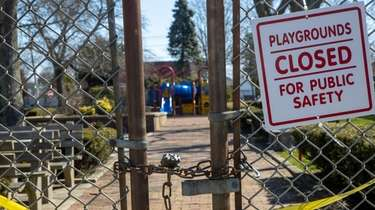 Estella Park in Seaford is closed due to