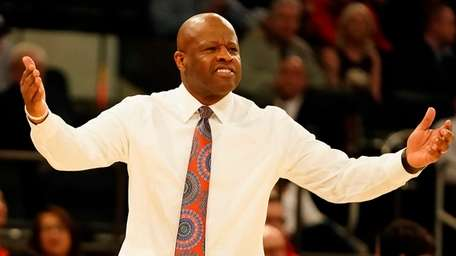 St. John's head coach MIke Anderson on the