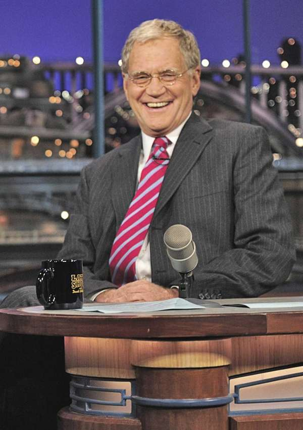David Letterman: To counteract an alleged attempt to