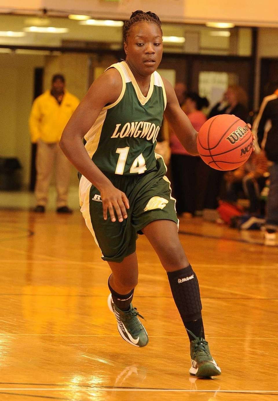 Longwood's Kiersten West