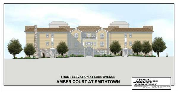 An artist's rendering of Amber Court in Smithtown.
