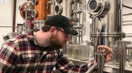 Peter Cornielle, head distiller at the Better Man