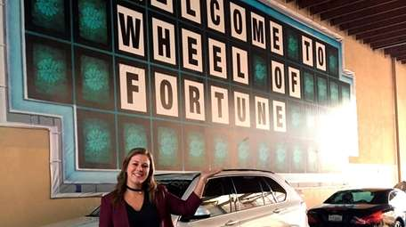 """Vanessa Verni appeared on """"Wheel of Fortune"""" which"""