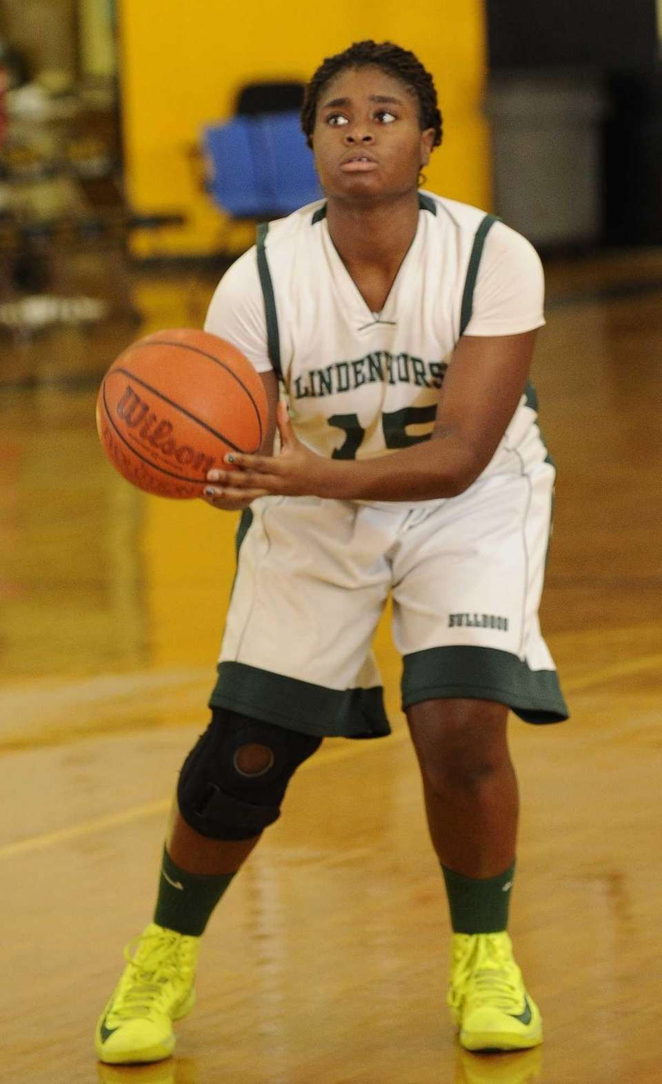 VAL OYAKHILOME Lindenhurst, Forward, Senior She is versatile