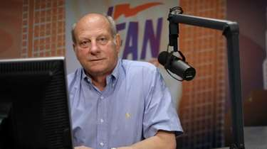 WFAN's John Minko, shown here in 2012, gave