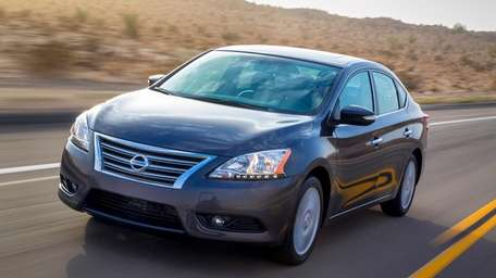 Nissan's 2013 Sentra continues the brand's product onslaught