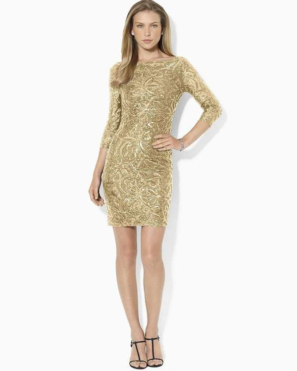 Own it in this cute sequin cocktail number
