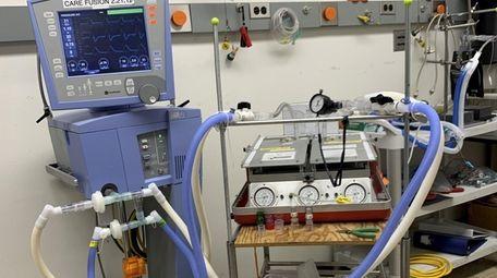 This image provided by Stony Brook University Hospital