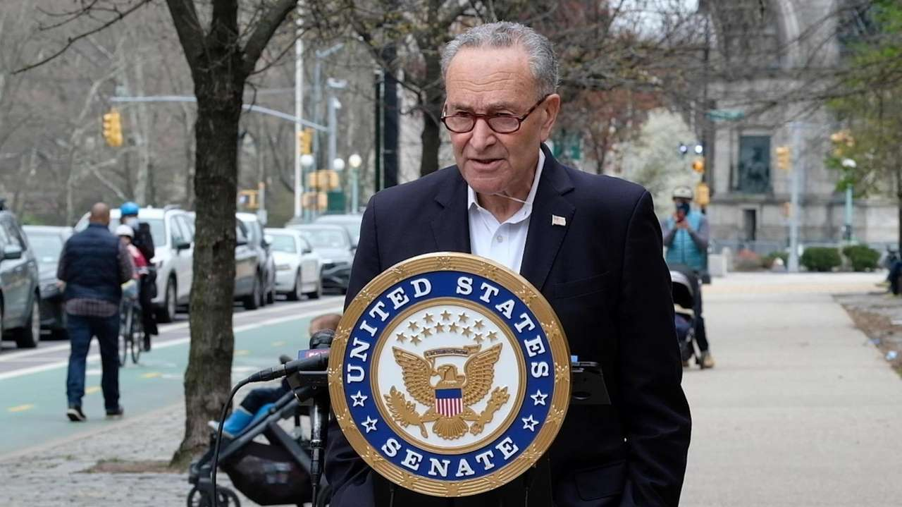 On Sunday, Sen. Chuck Schumer (D-N.Y.) held a