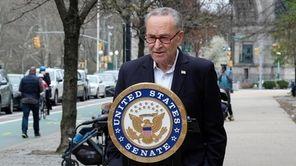 On Sunday, Sen. Chuck Schumer (D-N.Y.) held a