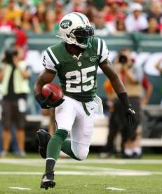 JOE MCKNIGHT Running back McKnight saw limited action