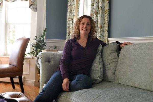 Beth Finger, 40, founder of the organization Jewish