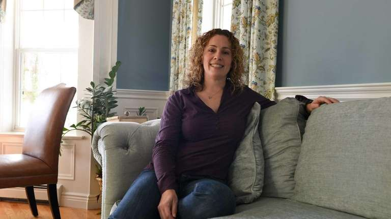 Beth Finger, 40, founder of the organization Jewish