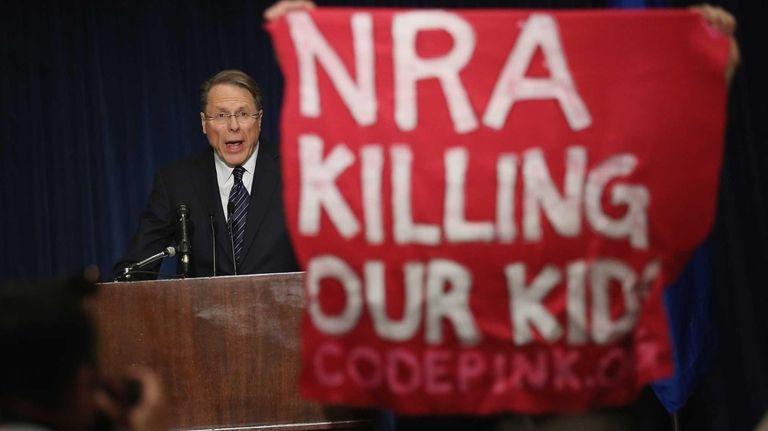 National Rifle Association Executive Vice President Wayne LaPierre