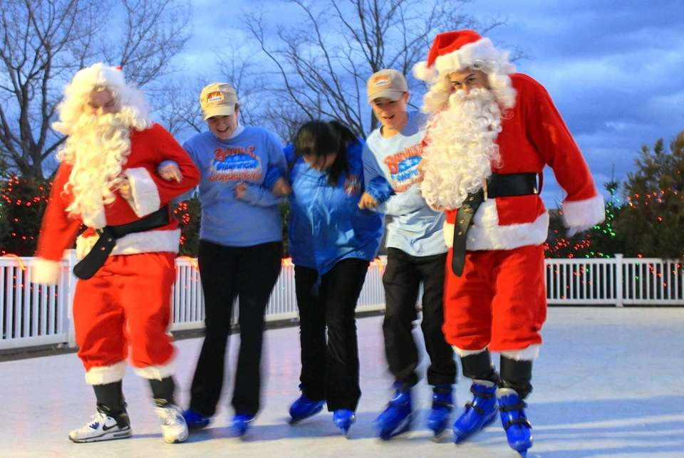 Employees of the Bayville Winter Wonderland — Chris