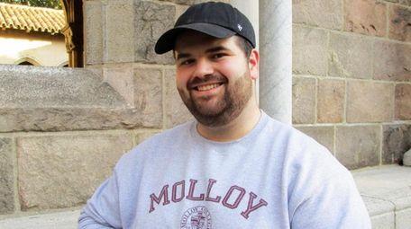 Joe Thomas, 22, an accounting major at Molloy