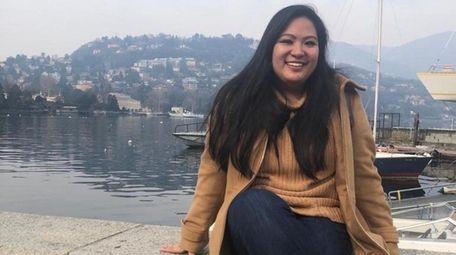 Jillian Bayoneto, 19, an accounting major at University